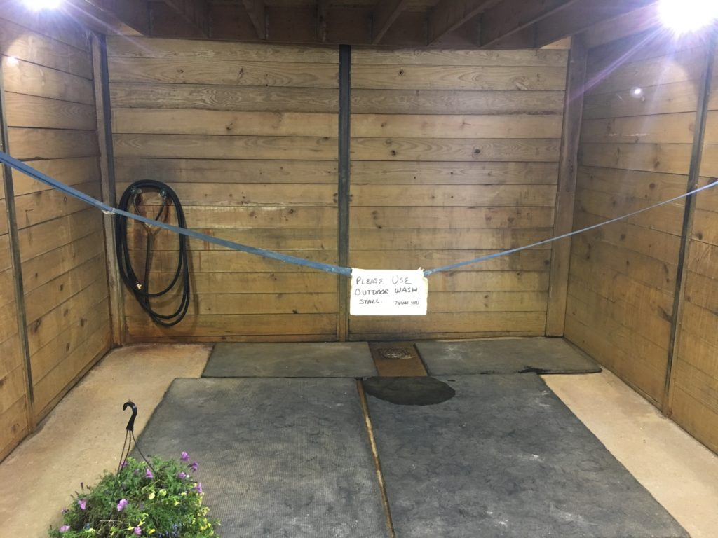 Indoor Wash Stall